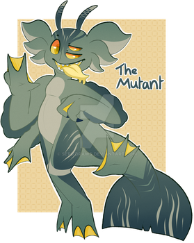 Official Mutant Fooshie [AUCTION - CLOSED] by SerifDraws