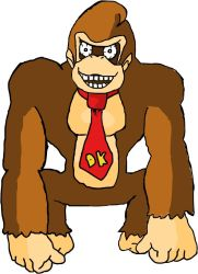 Donkey Kong- The King of Swing by SoloScorpio