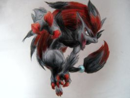 Zoroark by archus7