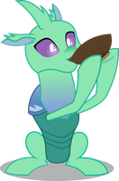 Vector #875 - Soup Changeling by DashieSparkle