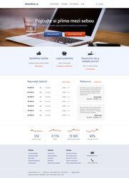 Quick loans homepage by lefiath