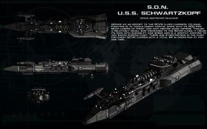 SDN USS Schwarzkopf ortho by unusualsuspex