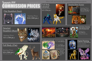 Current Commission Prices (Summer/Fall '17) by TheMoonfall