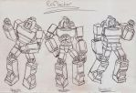 Masterpiece/Ultimate Reflector, Cartoon Edition by UnicronHound
