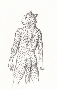 ''Daily'' sketch - Scars by 0laffson