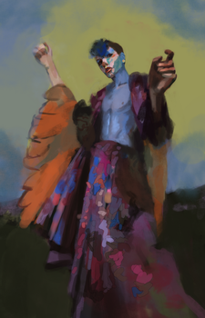the peacock dude by ntrppttprfctm