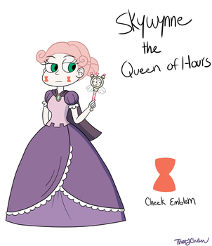 Skywynne the Queen of Hours by Thongchan