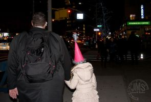 Father and Daughter New Year by steeber