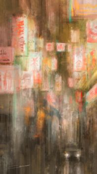 Nighttime In Chinatown by Alex-Chow