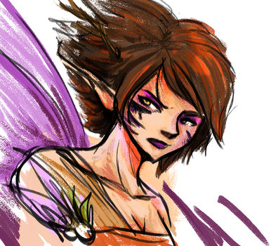 Cracked Out Fairy by Pereprin