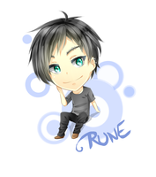 Chibi Request : Rune by Elwyn-Ketsurui