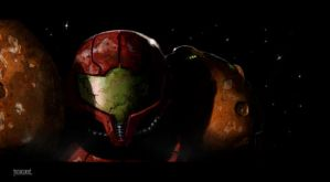 Bounty Hunter Samus by nbashowtimeonnbc
