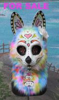 Sugar Skull Fursuit Head FOR SALE by LilleahWest