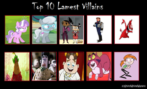 My Top 10 Most Lamest Villains by Toongirl18