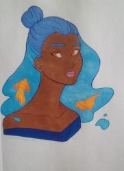 Draw This In Your Style Challenge - Destiny Blue by Kimiko-chan420