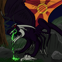 The Stained Glass Dragon by the3Ss