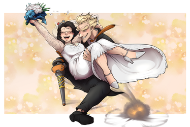 Meihem Wedding Bells by BlizzieNeko