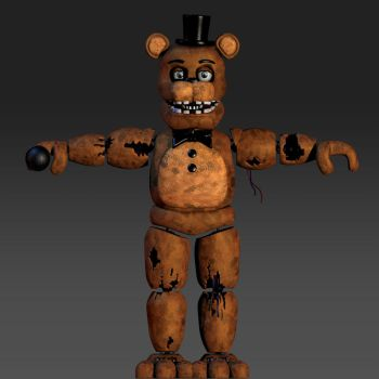 Withered Freddy Coolioart Fix by rendragading