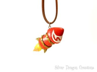 Wowhead Rocket Necklace by Euphyley