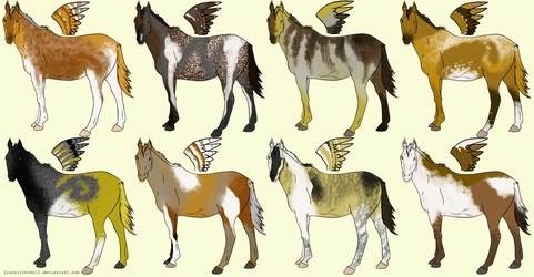 OPEN 30 Point Adoptable Horses by lionsilverwolf