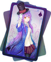 Magician Card by SFrostWing