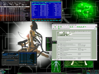 Ghost in the Shell Mod Theme by Kefka-DArden
