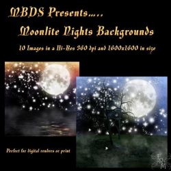 '92s Moonlite Nights backgrounds, by MBDS (excl) by FantasiesRealmMarket