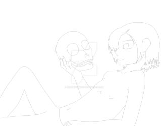 Lollipop and skull candy W.I.P. by RisqueKitsune