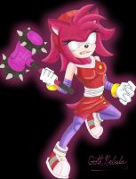 SB: Dark Amy Rose by GothNebula