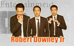 Robert Downey Jr is Iron Man by Anthony258