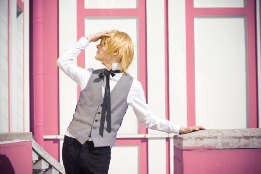 Ouran Cosplay : Tamaki Suoh by Azetylen