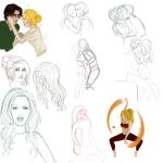 Autumn Sketchdump by Feed-me-your-fear