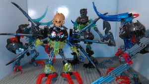 Team Extinction (Robot Modes) by sideshowOfMadness