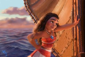 Vaiana-Moana by turkill