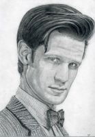 Matt Smith - The Eleventh Doctor by grahamartpop