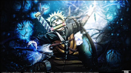 _naruto wall_ by gabber1991md