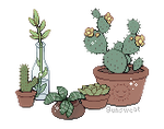 pixel plants {ftu} by gunsweat