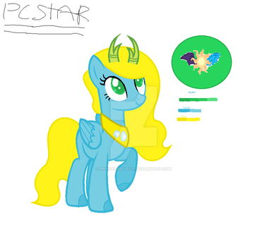 MLP Next Gen Princess star by Princessblue121
