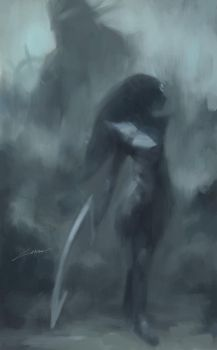 Diana's Lamentation (League of Legends) by Alex-Chow