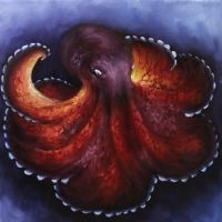 Coconut Octopus by crazycolleeny