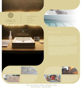 web template grace hotel by bcoded