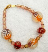 Art Glass Bracelet by kjtgp1