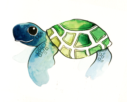 180121 Turtle by Ainaredien