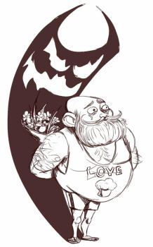 Daily Sketch: Love Muffin by Hunchy