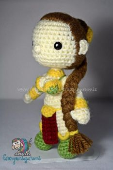 Leia slave - star wars - amigurumi doll by zulemax
