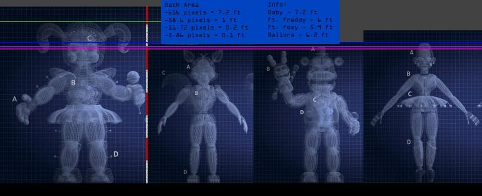 FNaF SL Scales are weird... by TF541Productions