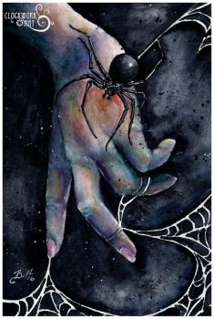 Flirtations with Arachne I by bcduncan