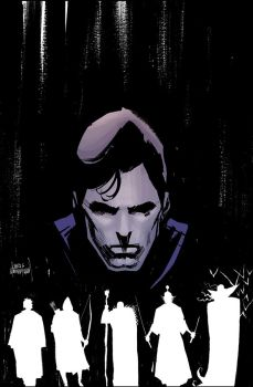 Five Ghosts #1 cover by Mooneyham
