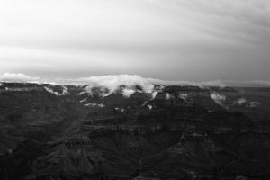 Clouds at the Grand Canyon (take 2) by ssbcloud