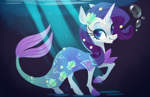 Mer-May Rarity (With Speedpaint!) by JaneGumball